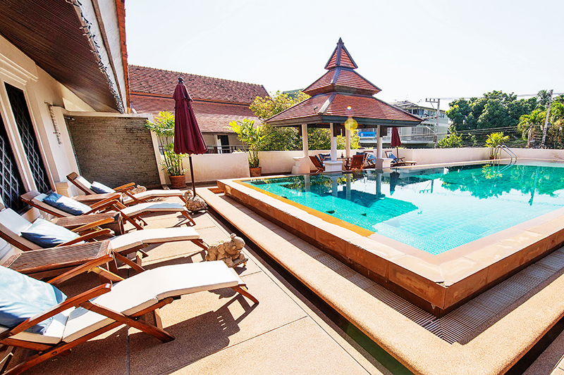 Outdoor Swimming Pool of this Boutique Hotel