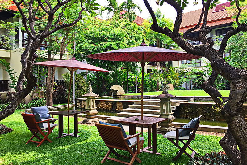 Facilities - Lush Gardens - A Favorite Place To Unwind